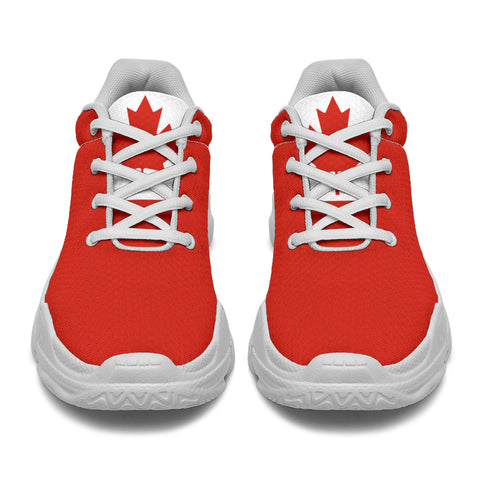 Image of Canada Maple Leaf - (Men's/Women's)Chunky Sneakers A9