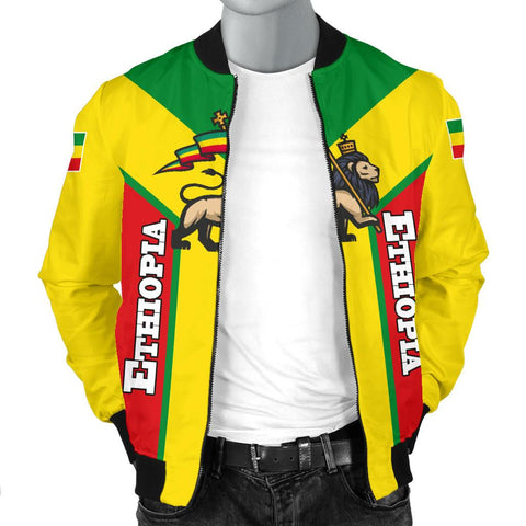 Ethiopia Bomber Jacket Men Rising A10