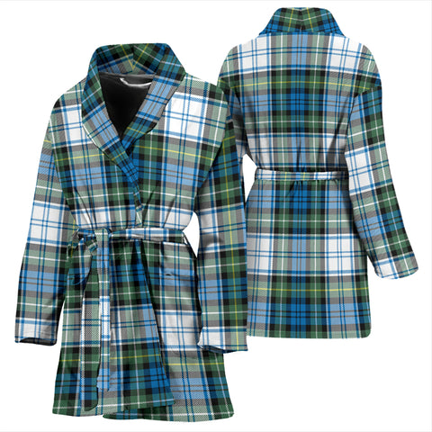 Campbell Dress Ancient Bathrobe - Women Tartan Plaid Bathrobe Universal Fit