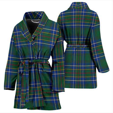 Cockburn Ancient Bathrobe - Women Tartan Plaid Bathrobe Universal Fit