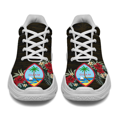 Image of Guam Hibiscus (Men - Women) Chunky Sneakers A7