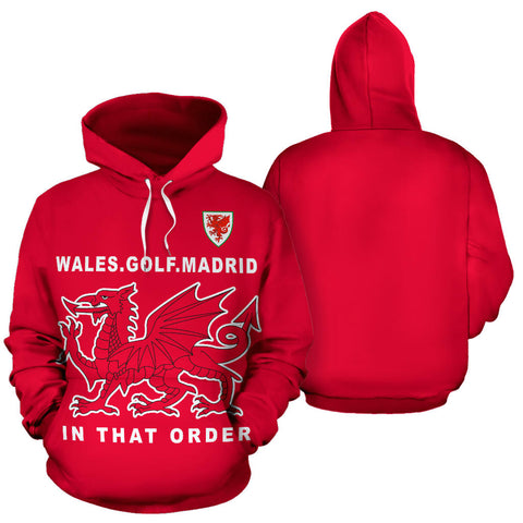 Image of Wales The Winner Zip-Up Hoodie