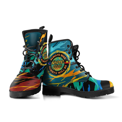 Australia  Leather Boots - Naidoc Always Was, Always Will Be - BN17