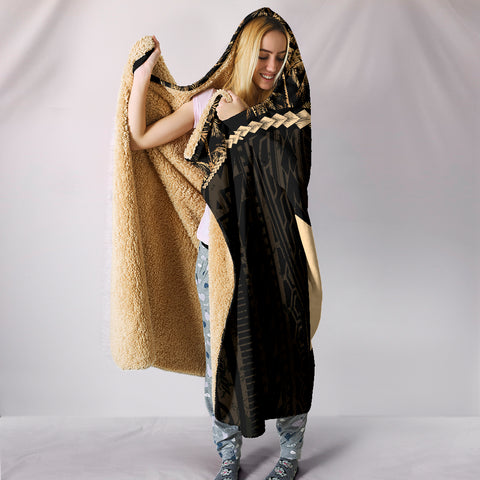 Wallis and Futuna Hooded Blanket Golden Coconut | Love The World