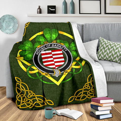 Barrett Ireland Premium Blanket | Home Set | Special Custom Design