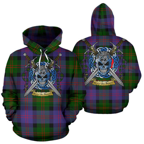 Blair Modern Tartan Hoodie Celtic Scottish Warrior A79 | Over 500 Tartans | Clothing | Apaprel