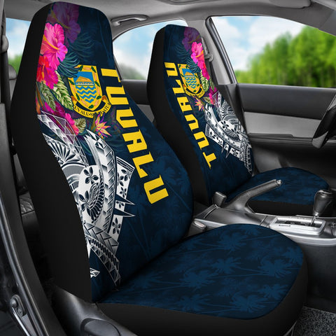 Tuvalu Car Seat Covers - Summer Vibes
