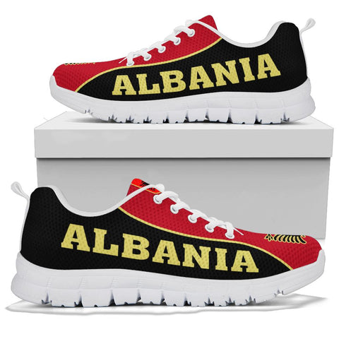 Albanian Sneakers - White Sole