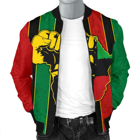 Pan Africa Men's Bomber Jacket - We Are Proud To Be-BN1525