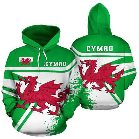 Image of Wales Hoodie Painting Style Th52