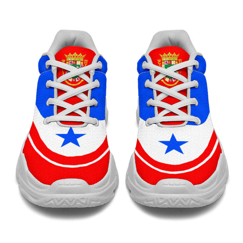 Puerto Rico Chunky Sneakers Bn10
