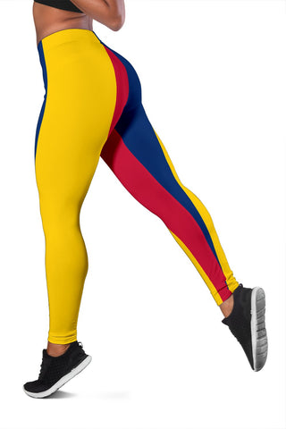 Image of Chad Flag Women's Leggings A31