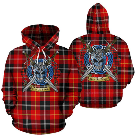 Marjoribanks Tartan Hoodie Celtic Scottish Warrior A79 | Over 500 Tartans | Clothing | Apaprel