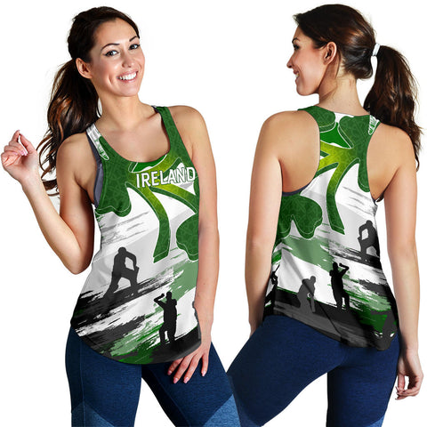 Image of Ireland Cricket Special Women's Racerback Tank A7