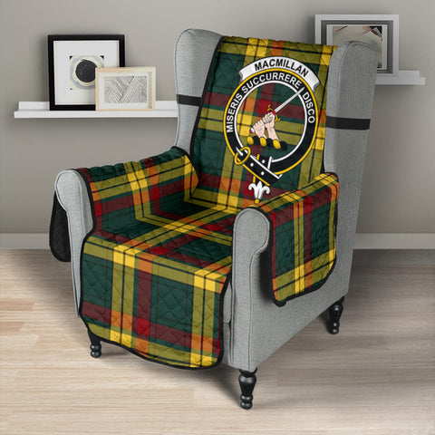 MacMillan Old Modern Tartan Clan Badge Sofa Protector K7