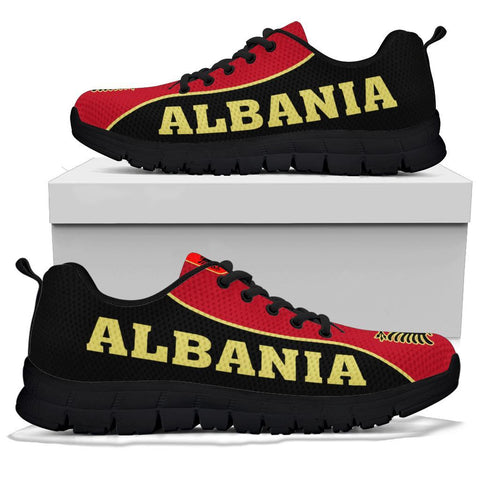 Image of Albania Sneakers - Black Sole