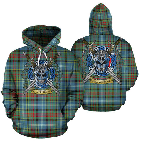 Paisley District Tartan Hoodie Celtic Scottish Warrior A79 | Over 500 Tartans | Clothing | Apaprel