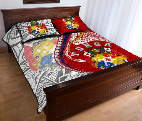 Image of Tonga Quilt Bed Set Kanaloa Tatau Gen TO TH65