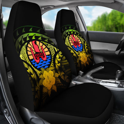 Tahiti Reggae Hibiscus Car Seat Covers | Love The World