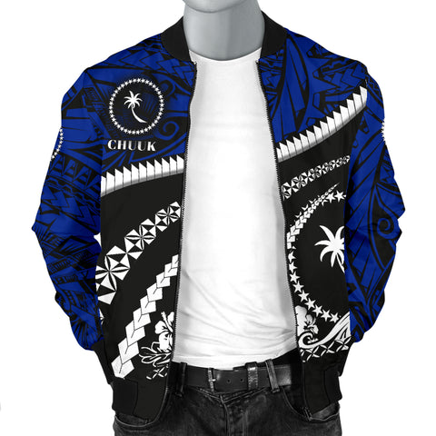 Chuuk Men Bomber Jacket - Road to Hometown K4