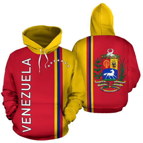 Venezuela All Over Hoodie - Straight 7 Stars Version - BN04