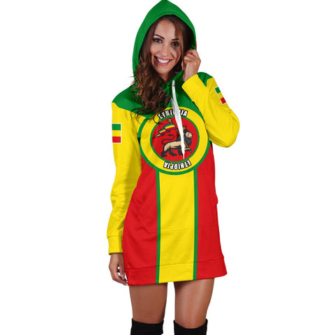Image of Ethiopia Hoodie Dress Rising A10