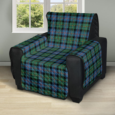 Malcolm Ancient Tartan Recliner Sofa Protector | Tartan Home Set