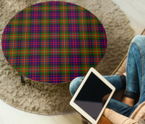 Image of Carnegie Modern Tartan Circular Coffee Table