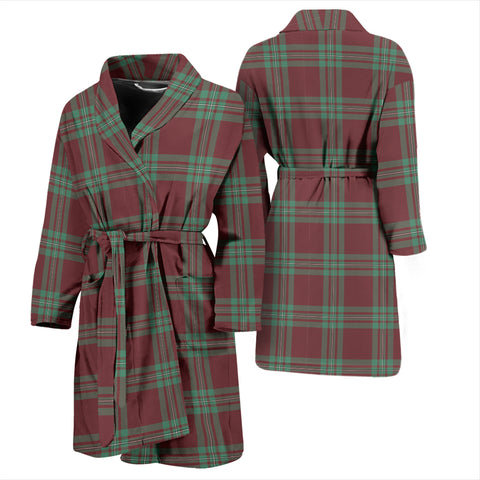 MacGregor Hunting Ancient Tartan Men's Bathrobe - BN04