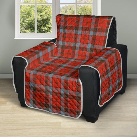 Image of Robertson Weathered Tartan Recliner Sofa Protector | Tartan Home Set