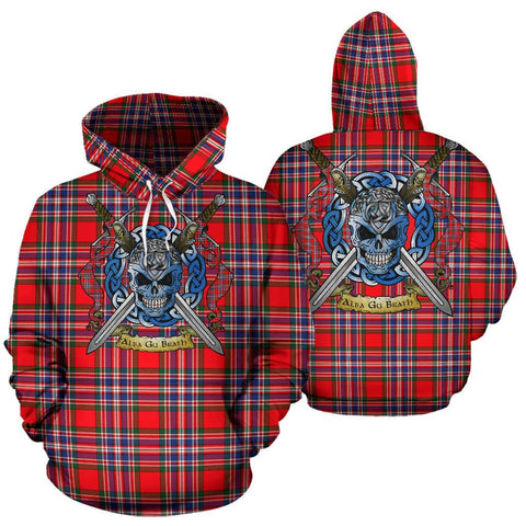 MacFarlane Modern Tartan Hoodie Celtic Scottish Warrior A79 | Over 500 Tartans | Clothing | Apaprel