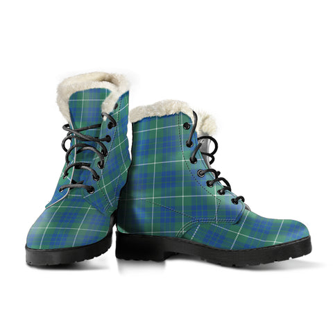 Hamilton Hunting Ancient Tartan Boots For Women