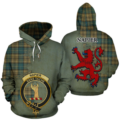 Image of Napier Ancient Clan  Tartan Hoodie.jpg