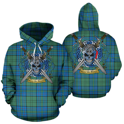 Lockhart Tartan Hoodie Celtic Scottish Warrior A79 | Over 500 Tartans | Clothing | Apaprel