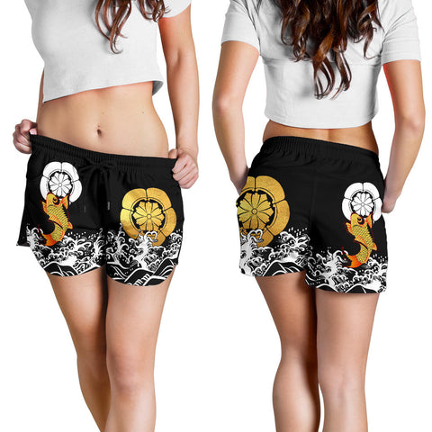 The Golden Koi Fish Women's Shorts A7