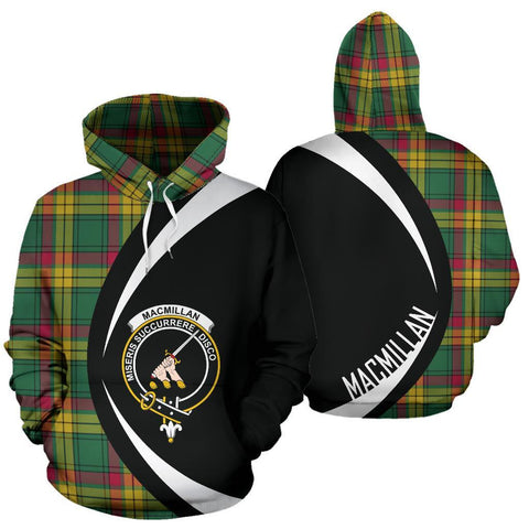 MacMillan Old Ancient Tartan Circle Hoodie HJ4