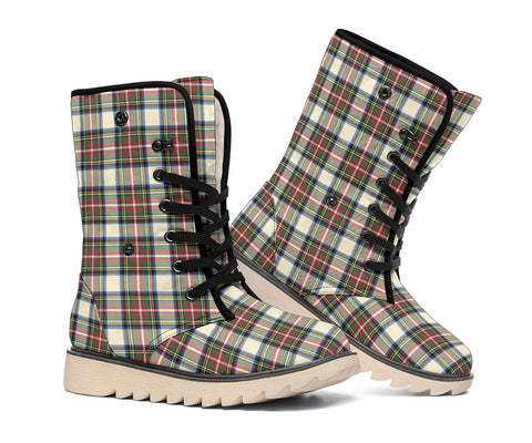 Stewart Dress Ancient Tartan Boots