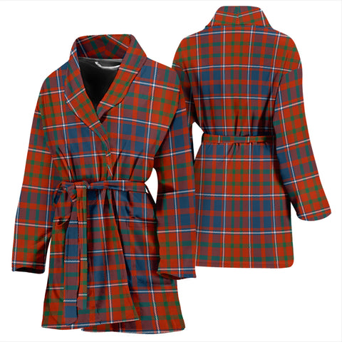 Cameron Of Lochiel Ancient Bathrobe - Women Tartan Plaid Bathrobe Universal Fit