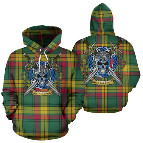 MacMillan Old Ancient Tartan Hoodie Celtic Scottish Warrior A79 | Over 500 Tartans | Clothing | Apaprel