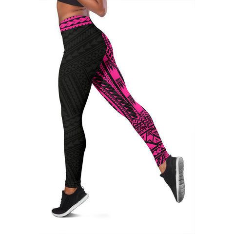 Polynesian Leggings Rising Pink A62