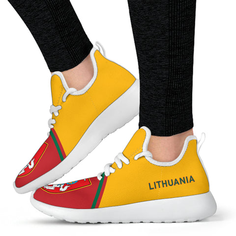 Lithuania Mesh Knit Sneakers - Curve Version - BN01