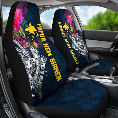 Papua New Guinea Car Seat Covers - Summer Vibes
