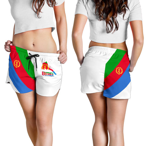 Image of Eritrea Special Flag Women's Shorts A7