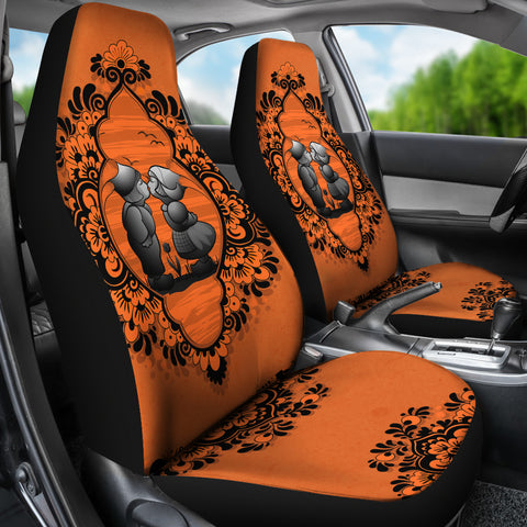 Nederland Car Seat Cover - Dutch Delft Blue
