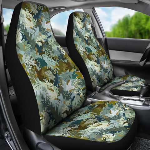 Camo Car Seat Covers - Leaf Pattern - BN07