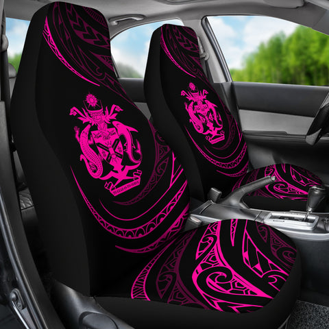 Solomon Car Seat Covers - Pink - Frida Style - J96