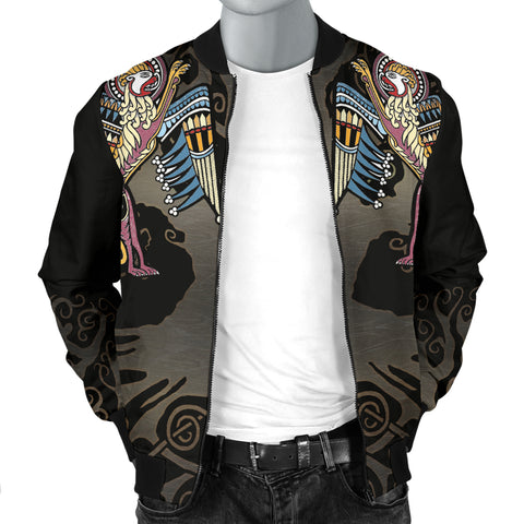Ireland Book of Kells Mark Men Bomber Jacket