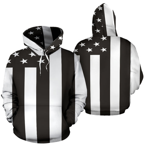 American Flag Black & White K5