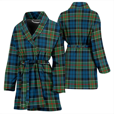 Image of Colquhoun Ancient Bathrobe - Women Tartan Plaid Bathrobe Universal Fit