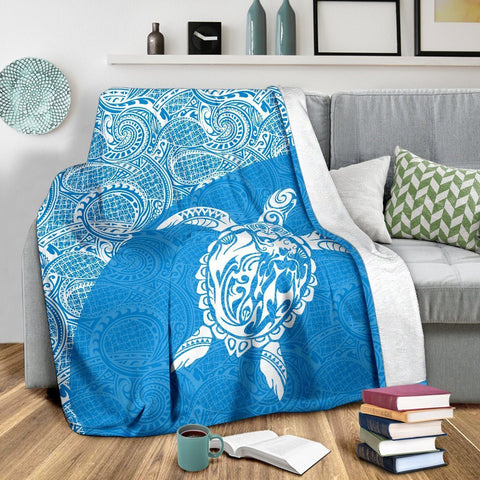 Hawaii Turtle Mermaid Premium Blanket 09 TH0